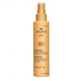 Nuxe Sun Milky Spray for Face & Body SPF50 150ml- Αντηλιακό Γαλάκτωμα για Πρόσωπο & Σώμα 150ml