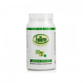 Follon Caps Ισχυρό Συμπλήρωμα Διατροφής για τα Συμπτώματα της Αλωπεκίας & της Τριχόπτωσης, 60 caps