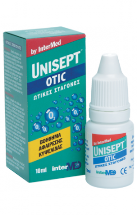 INTERMED UNISEPT OTIC DROPS 10ML