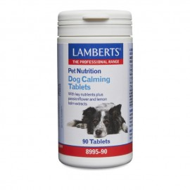 Lamberts Dog Calming Tablets, Συμπληρωματική Ζωοτροφή για Σκύλους, 90Caps (8995-90)