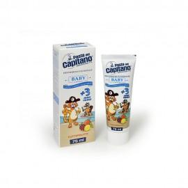 Pasta Del Capitano Baby Toothpaste +3 Years Tuttifrutti Οδοντόπαστα Διάφορα Φρούτα Για Παιδιά 3 Ετών+ 75ml