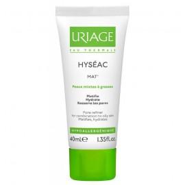 Uriage Hyseac Mat Matifying Emulsion Ενυδατικό Σμηγματορυθμιστικό Γαλάκτωμα Για Μικτή Ως Λιπαρή Επιδερμίδα 40ml