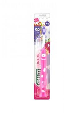 Gum 902 Kids Monsters Ροζ Παιδική Οδοντόβουρτσα 7-9 Ετών 1τμχ.