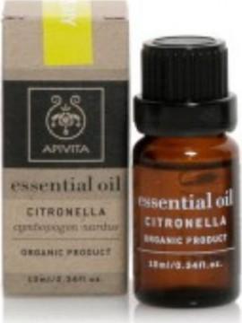 Apivita Essential Oil Citronella Αιθέριο Έλαιο Σιτρονέλα, 10ml