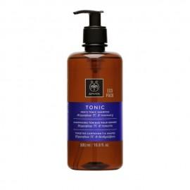 Apivita Τονωτικό Σαμπουάν κατά της Τριχόπτωσης για Άνδρες με Hippophae TC & Δενδρολίβανο, Mens Tonic Shampoo Hippophae TC & Rosemary, 500ml