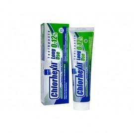 Intermed Chlorhexil Οδοντόπαστα Πολλαπλής Προστασίας της Στοματικής Κοιλότητας Κατά της Ουλοοδοντικής Πλάκας 0.12%, Long Use Toothpaste, 100ml