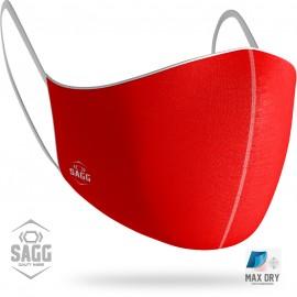 Unisex Μάσκα Προστασίας Κόκκινη, SAGG