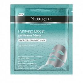 Neutrogena® Skin Detox 100% Hydrogel Mask Μάσκα Αναδόμησης & Αποτοξίνωσης, 30ml