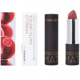 Korres Morello Matte Lipstick 23 Natural Purple Matte 3.5gr