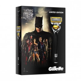 Gillette Set Justice League Fusion ProShield Ανταλλακτικά 3τμχ + ΔΩΡΟ Συλλεκτική Ξυριστική Μηχανή Fusion ProShield με τεχνολογία Flexball 1τμχ