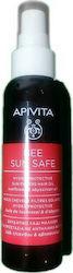 Apivita Bee Sun Safe Hydra Protection Sun Filters Hair Oil Αντηλιακό Λάδι Μαλλιών για Προστασία με Ηλίανθο & Λάδι Αβυσσινίας, 100ml