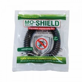 Mo-Shield Menarini Αντικουνουπικό Βραχιόλι Χρώμα Μαύρο, 1τεμ