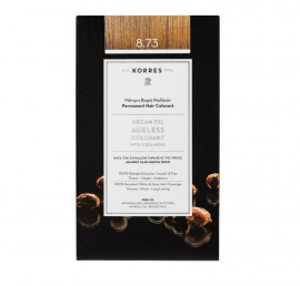 Korres Argan Oil Ageless Colorant Μόνιμη Βαφή Μαλλιών 8.73 Χρυσή Καραμέλα 50ml