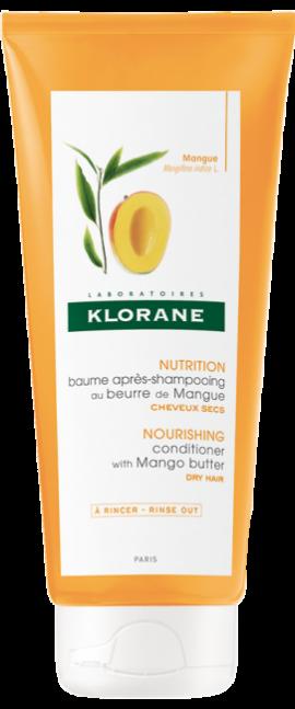 Klorane Conditioner Μαλακτική Κρέμα με Μάνγκο για Ξηρά Μαλλιά, 200ml