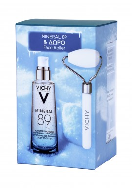 Vichy Set Mineral 89 75ml + Δώρο Face Roller 1τμχ