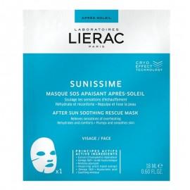 Lierac Sunissime After Sun Soothing Rescue Mask Μάσκα Προσώπου Για Μετά Τον Ήλιο 18ml