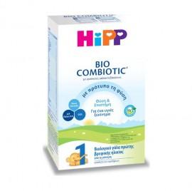 Hipp Bio Combiotic No1 Βιολογικό Γάλα Πρώτης Βρεφικής Ηλικίας Χωρίς Άμυλο Από την Γέννηση 600gr