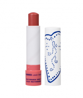 Korres Lip Balm Mediterranean Grape Ενυδατικό Χειλιών Σταφύλι Με Χρώμα 4.5gr
