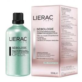 Lierac Sebologie Blemish Correction Keratolytic Solution, Κερατολυτικό Διάλυμα Διόρθωσης Ατελειών Προσώπου Για Λιπαρό Δέρμα, 100ml
