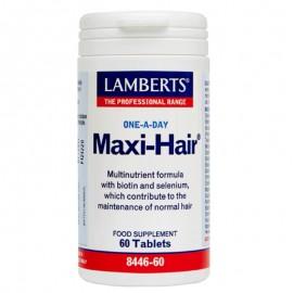 Lamberts Maxi Hair, Φόρμουλα κατά της Τριχόπτωσης & Ενδυνάμωσης των Μαλλιών, 60tabs