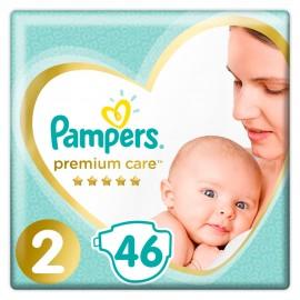 Pampers Premium Care No.2 (4-8kg) Πάνες, 46 τεμάχια