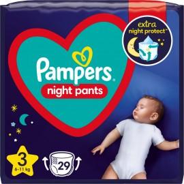 Πάνες Pampers Night Pants Νο3 (6-11kg) ,29τεμ