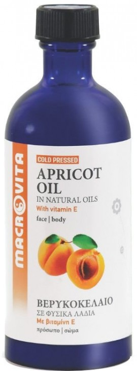 Macrovita  Apricot Oil Βερυκοκέλαιο 100ml