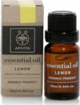 Apivita Essential Oil Lemon Αιθέριο έλαιο Λεμονιού, 10ml