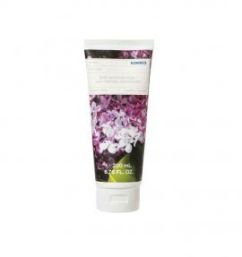 Korres Body Smoothing Milk Lilac Ενυδατικό Γαλάκτωμα Σώματος Πασχαλιά, 200ml