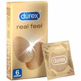 Durex Real Feel 6 τεμάχια
