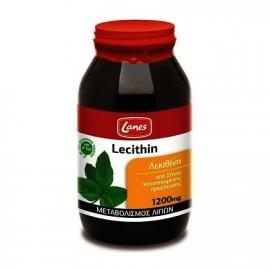 Lanes Lecithin Λεκιθίνη 1200mg 200 Ταμπλέτες