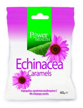 Power Health Echinacea Caramels Καραμέλες Εχινάκειας 60gr