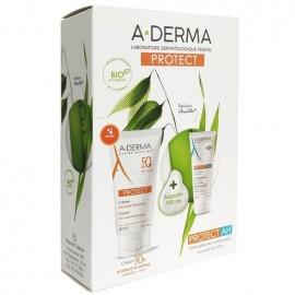 A-Derma Promo Protect Creme Tres Haute Protection SPF50+ 40ml & ΔΩΡΟ Protect AH Lait Reparateur Apres Soleil 100ml