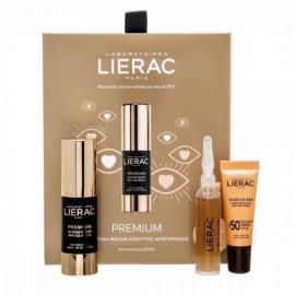 Lierac Promo Premium Yeux Creme Regard 15ml Κρέμα Ματιών Αντιγήρανσης Και Σύσφιξης + Cica Filler Αντιρυτιδικός Ορός 10ml + Sunissime Κρέμα Αντιηλιακής Προστασίας Προσώπου Spf50 10ml