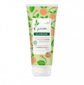 Klorane Junior Shampoo Παιδικό Σαμπουάν για Εύκολο Ξέμπλεγμα με Άρωμα Ροδάκινο 3 ετών+, 200ml