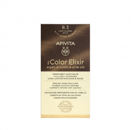 Apivita Βαφή Μαλλιών Μόνιμη 8.3 My Color Elixir Ξανθό Ανοιχτό Μελί