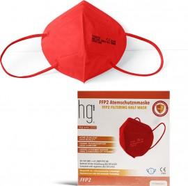 Poli HG Pro 200 FFP2 Filtering Half Mask Red, Μάσκα Υψηλής Προστασίας Κόκκινη, 10τμχ