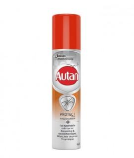 Autan Protect Spray για Προστασία Ενάντια σε Κουνούπια Τίγρης, Μύγες Που Τσιμπούν, Τσιμπούρια 100ml