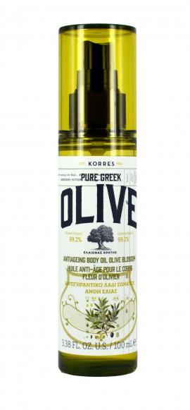 KORRES Pure Greek Olive Αντιγηραντικό Λάδι Σώματος Άνθη Ελιάς 100ml