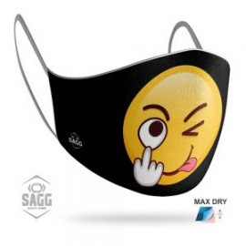Unisex Μάσκα Προστασίας Ανδρική Imoji 3 1τμχ, SAGG