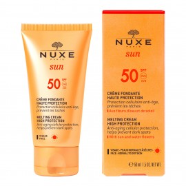 Nuxe Sun Melting Cream High Protection SPF50 Αντηλιακή Κρέμα Προσώπου, 50ml