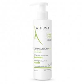 A-derma Καταπραϋντικός Αφρός Καθαρισμού για Πρόσωπο & Σώμα, Dermalibour Cica-gel Moussant,  200 ml