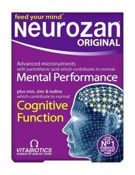 Vitabiotics Neurozan Original, Συμπλήρωμα για την Υγεία του Εγκεφάλου 30caps
