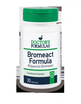 Doctors Formulas Bromeact, Συμπλήρωμα Διατροφής, Φόρμουλα Αντιφλεγμονώδης 30 κάψουλες