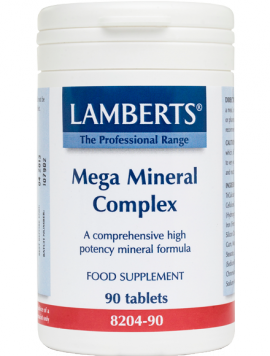Lamberts Mega Mineral Complex Σύμπλεγμα Μετάλλων 90 Tabs (8204-90)