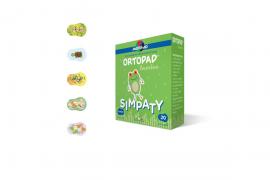 Master Aid Ortopad Regular Simpaty Cotton, Παιδικά Οφθαλμικά Αυτοκόλλητα για Στραβισμό (8,5x5,9cm), 20 τεμάχια