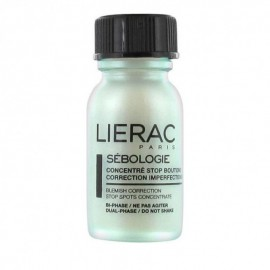 Lierac Sebologie Blemish Correction Stop Spots Concentrate, Συμπύκνωμα Κατά Των Ατελειών Για Το πρόσωπο, 15ml