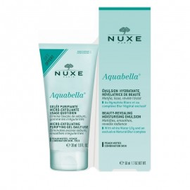 Nuxe Aquabella Moisturizing Emulsion Ενυδατικό Γαλάκτωμα, 50ml + Δώρο Micro-Exfoliating Purifying Gel 30ml