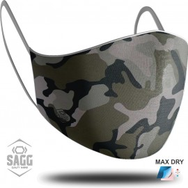 Unisex Μάσκα Προστασίας Army, SAGG