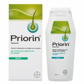 Priorin Σαμπουάν Θρέψης για τα Λιπαρά Μαλλιά με Φυτικά Εκχυλίσματα & Βιταμίνες, 200ml